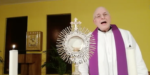 Esercizi spirituali in tempo di coronavirus con don Paolo Benvenuto su Facebook _ continuano