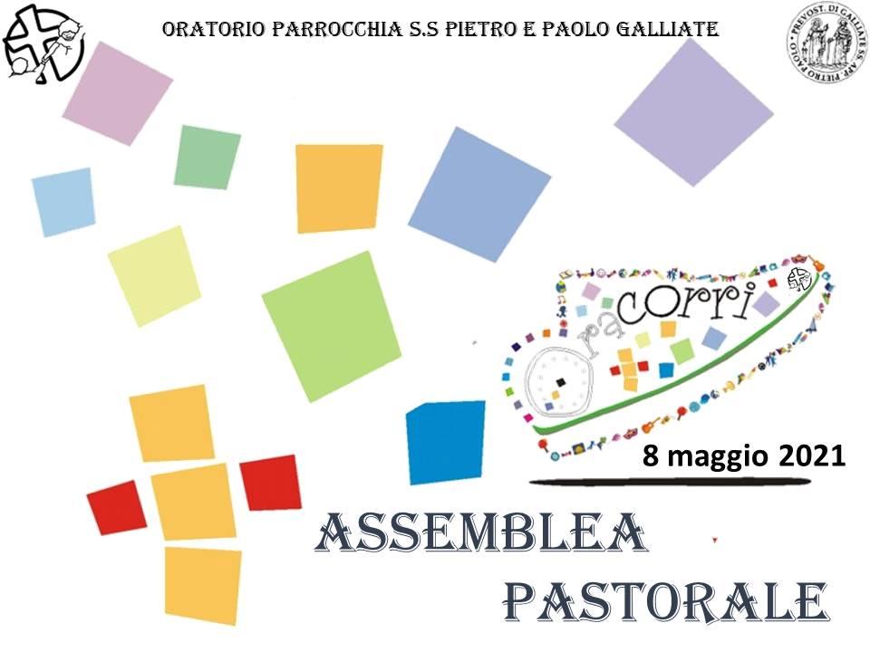 Assemblea pastorale parrocchiale – 8 maggio 2021